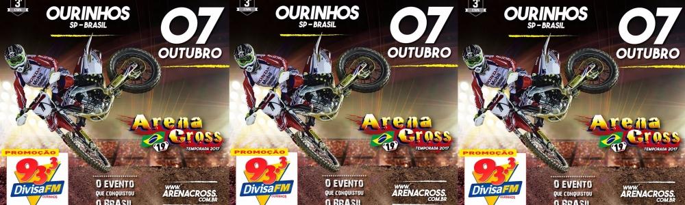 OURINHOS VAI VIVER TODAS AS EMOÇÕES DO ARENA CROSS DIA 07 DE OUTUBRO