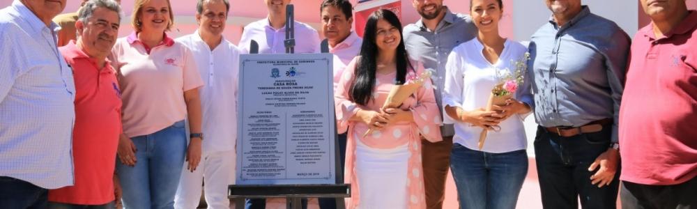 Prefeitura inaugura unidade da Casa Rosa em Ourinhos