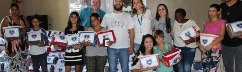 Fundo Social de Solidariedade recebe da LBV doação de 400 cobertores