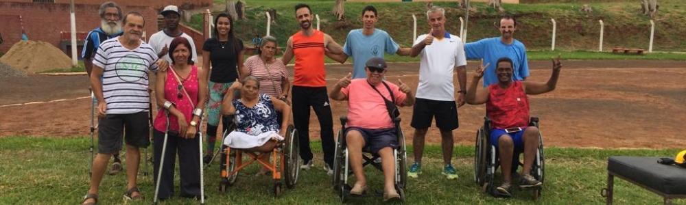 Delegação paraolímpica de Ourinhos participa em SP da primeira competição nacional