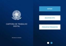 DIGITAL, NOVA CARTEIRA DE TRABALHO PODE SUBSTITUIR A TRADICIONAL VERSÃO IMPRESSA